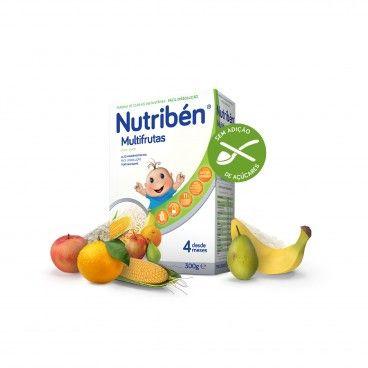 Nutribén Farinhas Multifrutas S/Açúcar | 300g