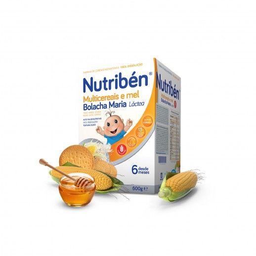 Nutribén Farinhas Multicer Mel Bol | 600g