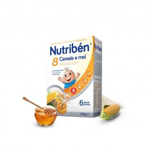 Nutribén Farinhas 8 Cereais Mel Bol | 300g