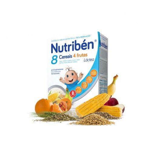 Nutribén Farinhas 8 Cereais e 4 Frutas | 300g