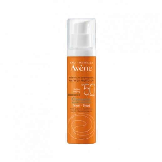 Avène Solar Spf50+ Cleanance with color 50mL