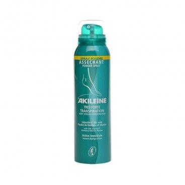 Akileïne Spray Pó Absorvente Transpiração Muito Intensa |150 mL