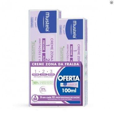 Mustela Muda Diaper Cream Diaper Zone 1>2>3 | 150mL with 2nd Package Offer 100 | mL